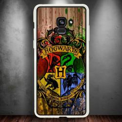 Funda Galaxy A8 2018 harry potter escudo