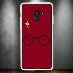 Funda Galaxy A8 2018 harry potter red edition