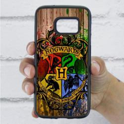 Funda Galaxy S7 harry potter escudo
