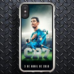 Funda Iphone X cr7 chilena histórica