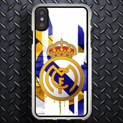 Funda Iphone X escudo real madrid