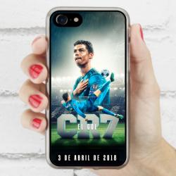 Funda Iphone 8 cr7 chilena histórica