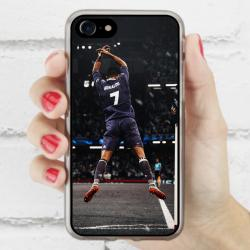 Funda Iphone 8 cr7 gol