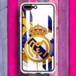 Funda Iphone 8 Plus escudo real madrid