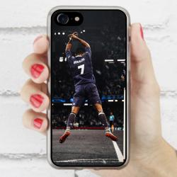 Funda Iphone 7 cr7 gol