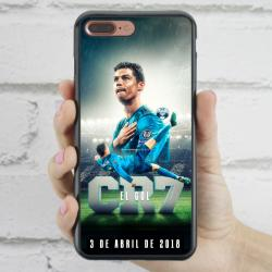Funda Iphone 7 plus cr7 chilena histórica