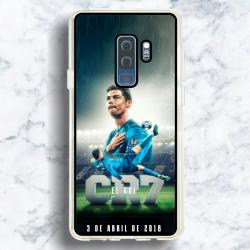 Funda Galaxy S9 Plus cr7 chilena histórica