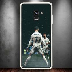 Funda Galaxy A8 2018 cr7 celebración