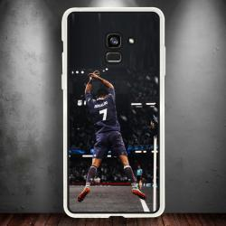 Funda Galaxy A8 2018 cr7 gol