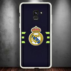 Funda Galaxy A8 2018 real madrid líneas
