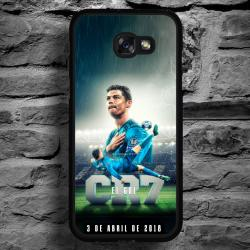 Funda Galaxy A5 2017 cr7 chilena histórica