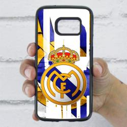 Funda Galaxy S7 escudo real madrid