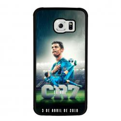 Funda Galaxy S6 Edge cr7 chilena histórica