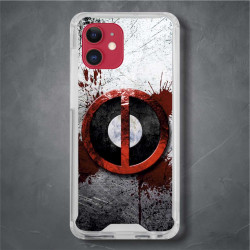 Funda Iphone 11 deadpool logo