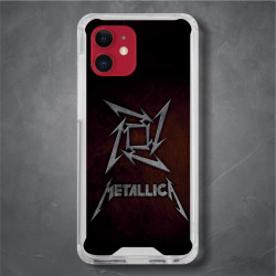 Funda Iphone 12 metallica