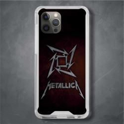 Funda Iphone 12 Pro Max metallica