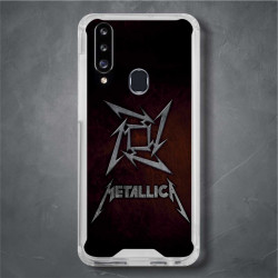 Funda Galaxy A20s metallica