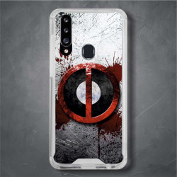 Funda Galaxy A20s deadpool logo