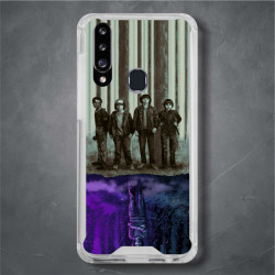 Funda Galaxy A20s stranger things mundo del reves