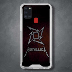 Funda Galaxy A21s metallica