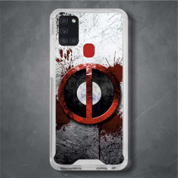 Funda Galaxy A21s deadpool logo