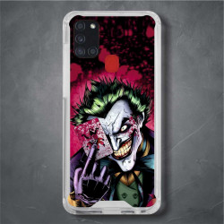 Funda Galaxy A21s joker carta