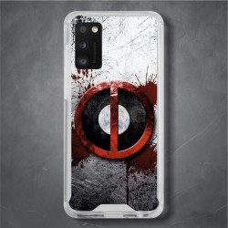 Funda Galaxy A41 deadpool logo