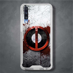 Funda Galaxy A70 deadpool logo