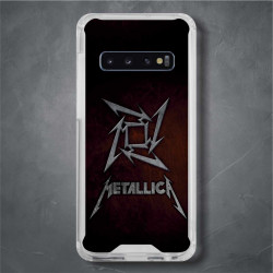 Funda Galaxy S10 Plus metallica