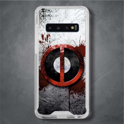 Funda Galaxy S10 Plus deadpool logo