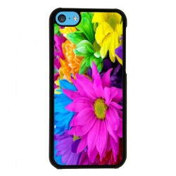 Funda Iphone 5C margaritas de colores