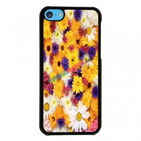 Funda Iphone 5C estampado margaritas