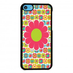 Funda Iphone 5C estampado hippie