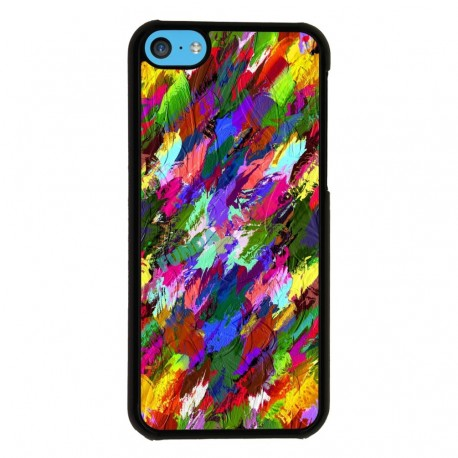 Funda Iphone 5C estampado aquarelas