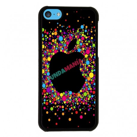 Funda Iphone 5C apple globos