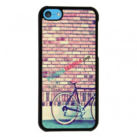 Funda Iphone 5C hipster bicicleta