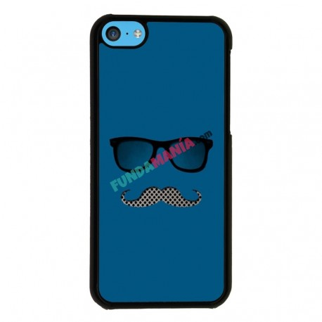 Funda Iphone 5C hipster gafas
