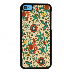 Funda Iphone 5C tatuaje