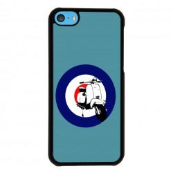 Funda Iphone 5C vespa azul