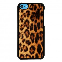 Funda Iphone 5C estampado leopardo