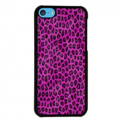 Funda Iphone 5C leopardo rosa