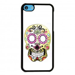 Funda Iphone 5C calavera mexicana