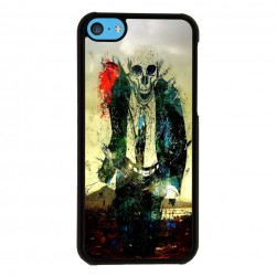 Funda Iphone 5C calavera zombi