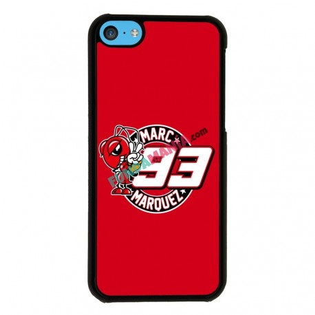 Funda Iphone 5C marc marquez mascota
