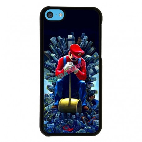 Funda Iphone 5C mario trono