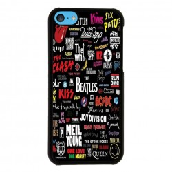 Funda Iphone 5C pop rock míticos