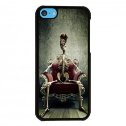 Funda Iphone 5C queen trono
