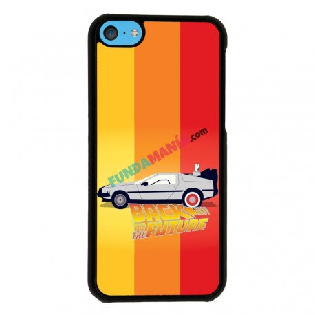 Funda Iphone 5C regreso al futuro delorean