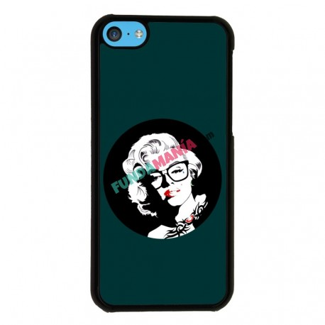 Funda Iphone 5C marilyn verde