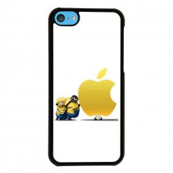 Funda Iphone 5C minions apple